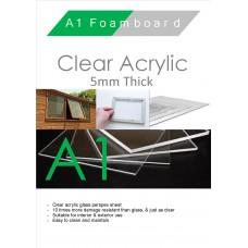 A1 5mm Clear Acrylic