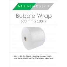 Bubble wrap 600 mm x 100 metres