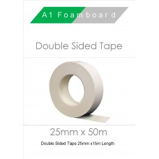 Double Sided Tape 25mm x 50m (6 Rolls)