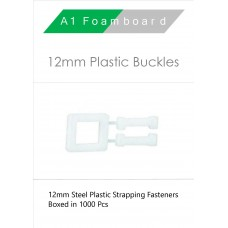 12MM Plastic Buckles Boxed 1000