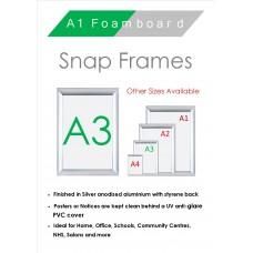 A3 Snap Frame
