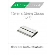 12MM X 25MM Closed (LAP) Boxed 1000