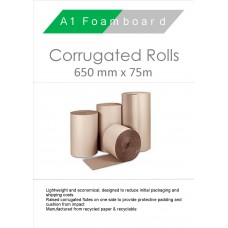 Corrugated Rolls 650mm x 75m