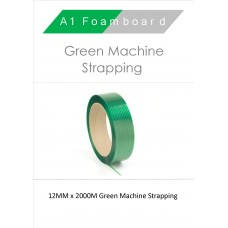 12MM x 2000M Green Machine strapping