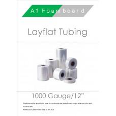 """1000 Gauge 12"""" Layflat Tubing"""