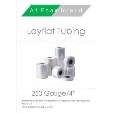 """250 Gauge 4"""" Layflat Tubing"""