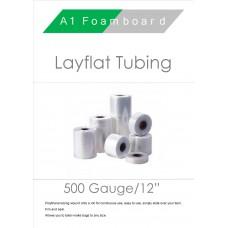 """500 Gauge 12"""" Layflat Tubing"""