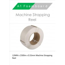 12MM x 2500m x 0.55mm Machine Strapping Reel