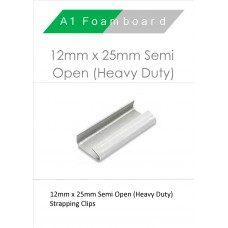 12MM X 30MM Semi Open Heavy Duty Boxed 1000