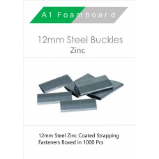 12MM Steel Buckles (zinc) Boxed 1000